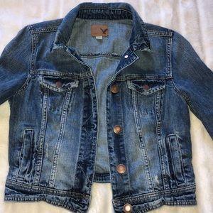 American Eagle Outfitters Jackets & Coats - AMERICAN EAGLE denim jacket